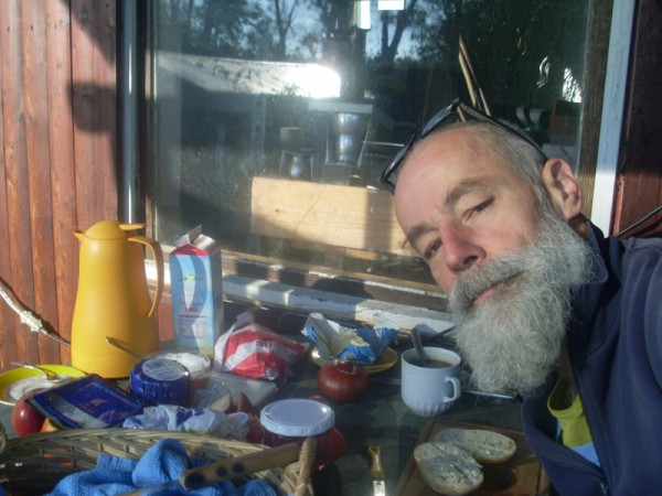 Sonne, Frühstück und ich