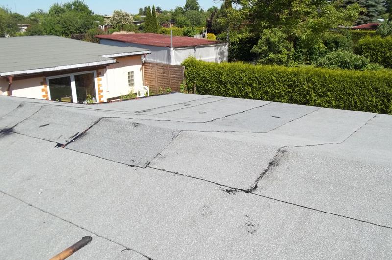 "Das ""neue"" Dach am 5. Juni 2015"