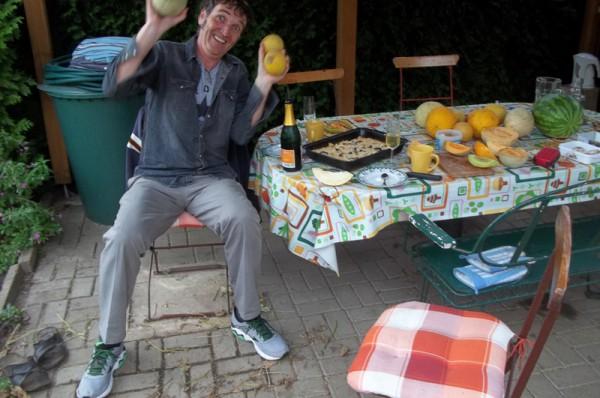 Melonengenuss am 13. September