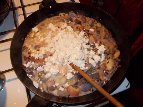 Ajiaco de Papas, 2. Versuch (rezept aus dem Kopf nachgekocht und deshalb Knoblauch, Petersilie und (scharfe) Paprika vergessen