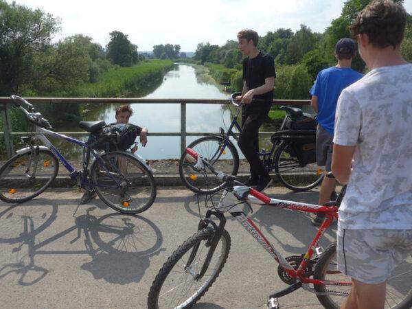 Brücke über die Alte Oder bei Bralitz